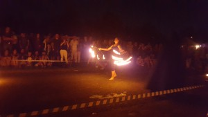 Feuershow Mittelarltermarkt Ochsenfurt